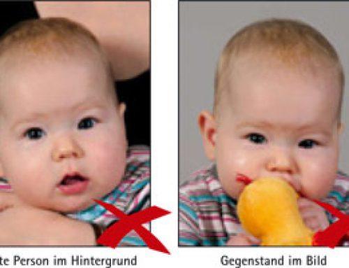 Biometrische Passbilder auch bei Babys?